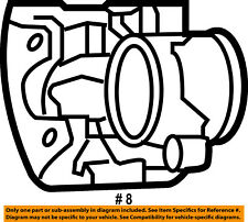 CHRYSLER OEM Front Brake-Disc Caliper 5019807AA