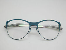 NEW Authentic IC BERLIN Lucie H. Aqua/Pearl 54mm Rx Eyeglasses w/ Case