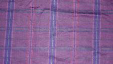 RALPH LAUREN RUTHERFORD PARK PLAID PURPLE/RED/GREEN BLUE 2PC KING PILLOWCASE SET