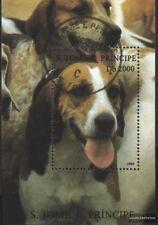 Sao Tome e príncipe Bloque 328 (compl.edición) usado 1995 perros