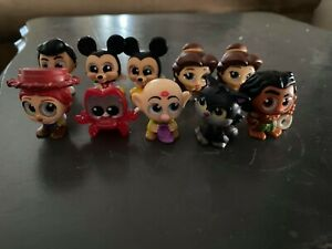 Doorables S5 & S6 Prince,Mickey,Jessy,Lucifur,Sebastian,Maui,Bell(Jeweled),Dopey