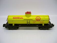 Reproduction American Flyer Yellow Shell Tank Car