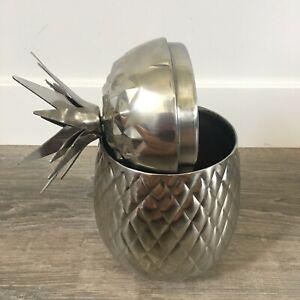 Silver Pineapple Ice Wine Bucket Tommy Bahama