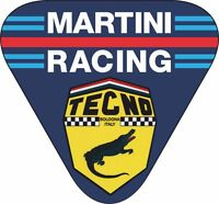 MotorSport Car Vinyl Decals Martini Style Tecno Racing Triangle Le Mans Rally F1