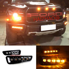 LED DAYTIME RUNNING LIGHT FOG LAMP W/ TURN SIGNAL DRL FOR Ford F150 Raptor 2016+