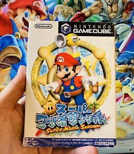 Super Mario Sunshine Nintendo GameCube Japan Import GC *FAST* Shipping