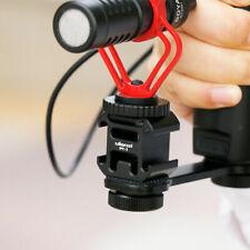 Ulanzi PT-3 Triple Cold Shoe Mount Adapter for DSLR Microphone LED Video Light