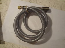 4-Foot REPLACEMENT HOSE WITH BRASS FITTINGS FOR KITCHEN FAUCET SPRAYER 48""