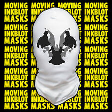 Halloween Costume Rorschach Moving Inkblot Mask - Cracked
