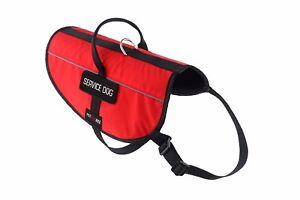 Petdogree Lightweight Reflective Service Dog Vest Harness Adjustable (6 Sizes!)