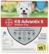 New - K9 Advantix II for Medium Dogs 11-20 lbs - 4 Pack