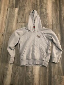 Patagonia Quilted Hoody Gray Men's Small Nice Organic Cotton