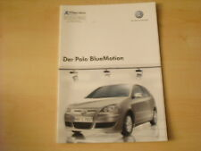 50495) VW Polo 9N BlueMotion Prospekt 05/2007