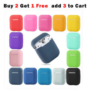 Shockproof for Apple AirPods Case Cover Skin Slim Silicone Anti Falling Scratch