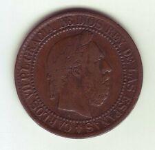 Currency Spain - Carlos VII, Pretender 10 Cents Peseta- 1875 Oñate