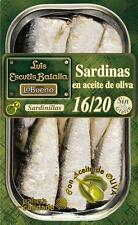 Kleine Sardinen in Olivenöl 16/20 St - RR 125, von Hand verarbeitet und verpackt