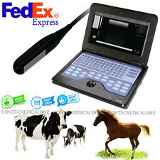 US Seller Veterinary Laptop Machine Ultrasound scanner Rectal Probe Horse/Cow