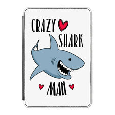 "Crazy Shark Man Case Cover for Kindle 6"" E-reader - Funny"