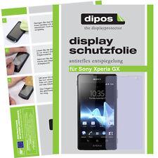 1x Sony Xperia GX  LT29i Schutzfolie matt Displayschutzfolie Antireflex