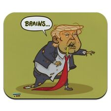 Donald Trump Undead Zombie Halloween Funny Low Profile Thin Mouse Pad Mousepad