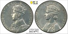 Great Britain Canada King George VI 1937 Coronation PCGS SP61 Medal Eimer 2046b!