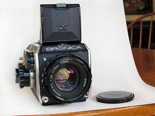 Zenza Bronica EC Camera w/ 75mm f2.8 Nikkor- H.C Lens