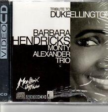 RARE VIDEO CD TRIBUTE TO DUKE ELLINGTON BY BARBARA HENDRICKS