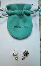 Tiffany & Co. Stud Sterling Silver Fine Earrings