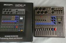 Zoom Livetrak L-8 multitrack mixer/recorder/interface