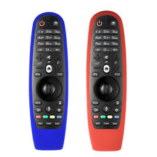 Portatile Soft Custodia Telecomando Silicone Cuscio Per LG TV Remote AN-MR600