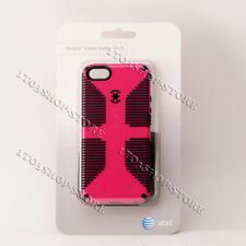 Speck CandyShell Grip Case Cover for iPhone 5/5s/se Raspberry/black