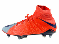 Nike Womens Hypervenom Phantom 3 Soccer Cleats Orange Gray Size 8 881548 059