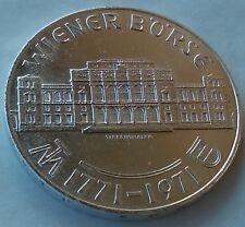 25 Schilling 1971. Austria silver coin, Wiener Börse, Silver (.800), rarre !