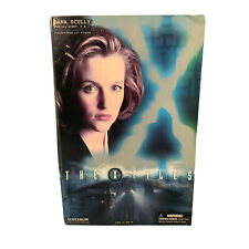 Sideshow Collectibles X-Files Dana Scully Action Figure Complete Boxed Mulder