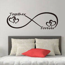 Together Forever Wall Sticker Decal Decor Bedroom Love Art Quote Home Decoration