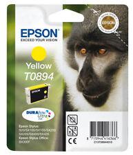 Original Epson T0894 Ink Yellow C13T08944011 Stylus SX100 SX215 SX4 MHD 05/2019