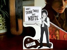 Bob Dylan Inspired Memo Pad. Don't Think Twice, just Write. Sationary Music Gift