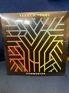 Years & Years Communion VINYL SEALED. Slight Storage Wear To Shrinkwrap . READ