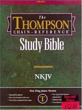 Thompson Chain Reference Bible: NKJV-burgundy