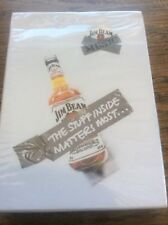 Playing Cards New Sealed Advertising Jim Beam Whisky Collectors Edition 2006