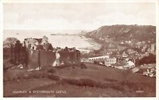 Mumbles Wales Uk Oystermouth Castle Postcard