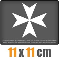 Om Zeichen 11 x 11 cm JDM Decal Sticker Auto Car Weiß Scheibenaufkleber