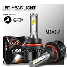9007 HB5 LED White Headlight Conversion Kit High/Low Beam Light Bulb 6000K