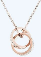 Double Gold Ring Necklace *NIB*