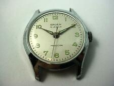 Silver Tone Id 29.05mm Vintage Watch Case Mens Gruen Dial Hands Crystal Crown