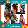 Anime One Piece Luffy Marco JinbeDoflamingo Smoker Action Figure Model Figurine