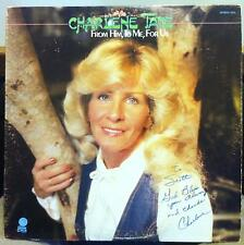 Charlene Tate - For Him To Me For Us LP Mint- RGC 1051 Private 1981 1st Signed