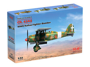 ICM 32023 WWII Italian Fighter-Bomber CR. 42AS 1/32