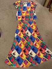 Breathtaking Designer Silk Skirt & Top Set