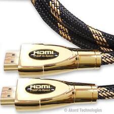 3 METRI NUOVO V2.0 Premium HDMI Cavo HD Alta Velocità 4K UltraHD 2160p 3D 3m Piombo